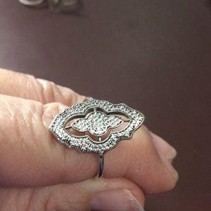 Sparkly Pandora Ring